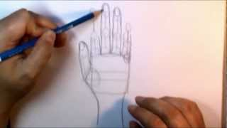 Download Drawing Hand Lesson one Video