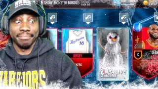 Download SNOW-MONSTER PACK OPENING & UNLOCKED PRESENTS! NBA Live Mobile 16 Gameplay Ep. 51 Video
