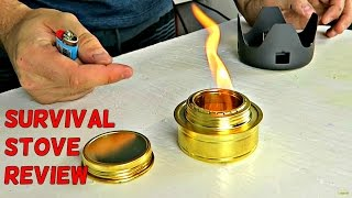 Download Awesome Alcohol Stove Review Video