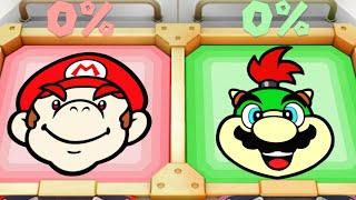 Download Super Mario Party MiniGames - Mario Vs Bowser Jr Vs Koopa Vs Dry Bones (Master Cpu) Video
