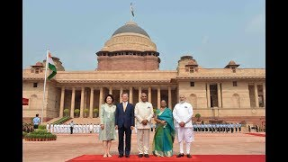 Download President Kovind accords a ceremonial welcome to President Moon Jae-in of South Korea Video