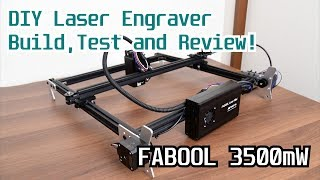 Download FABOOL 3500mW DIY Laser Engraver Build,Test and Review! Video