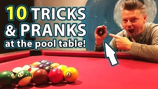 Download TOP 10 Pool TRICK Shots and PRANKS!! Video