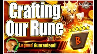 Download SUMMONERS WAR : Crafting Our Perfect Rune :D Video