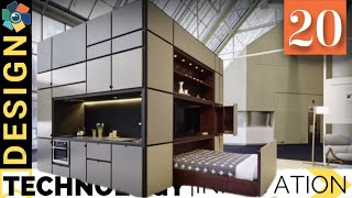 Download 20 Smart Furniture Designs | Transforming and Space Saving Video