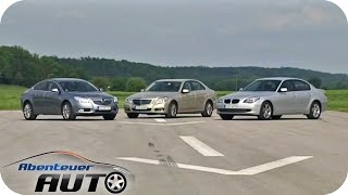 Download E-Klasse Mercedes vs. 5er BMW vs. Opel Insignia - Abenteuer Auto Video