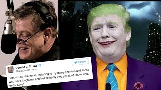 Download Mark Hamill Reading Donald Trump's Tweets As The Joker Is Terrifying Video