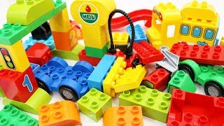 Download Building Blocks Toys for Children Toy Cars Trucks for Kids Video