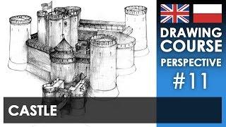 Download Drawing tutorial - Castle   Kurs rysunku - Zamek [S01E11 ENG/PL] Video