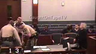 Download LADY FREAKS OUT AT HER SENTENCING Video