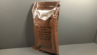 Download Eating 33 Year Old US MRE 1984 Ham & Chicken Loaf Vintage MRE Review Meal Ready to Eat Taste Test Video