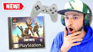 Download Fortnite on PS1 is CRAZY! Video