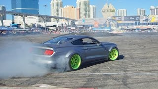 Download RTR 2015 Mustang Drift Battle at SEMA 2014 ″Ford Out Front″ Video
