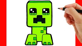 Download HOW TO DRAW CREPPER FROM MINECRAFT - COMO DIBUJAR MINECRAFT Video