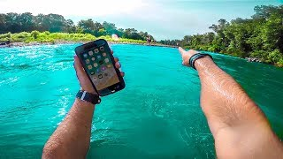 Download I Found a Working IPHONE X Underwater!! (iPhone Retuned to Owner- Family Freakout!!) Video
