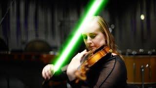 Download Helga Þóra æfir fyrir Star Wars bíótónleika Video