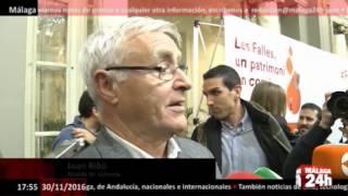 Download Málaga 24h TV - Las Fallas, Patrimonio Inmaterial de la Humanidad Video