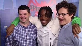 Download Spider-Man Into the Spider-Verse Interview - Chris Miller, Phil Lord & Shameik Moore Video