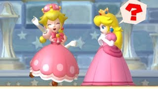 Download New Super Mario Bros U Deluxe - Peachette wants to rescue Peach Video
