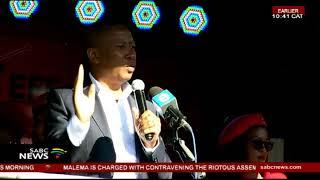 Download EFF leader remains defiant over his land grab statement Video