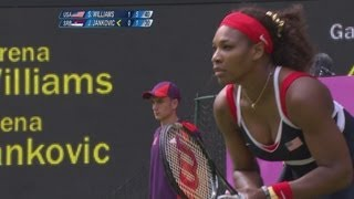 Download S. Williams (USA) v Jankovic (SRB) Women's Tennis 1st Round Replay - London 2012 Olympics Video
