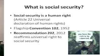 Download Introduction to social protection - Part 1 Video