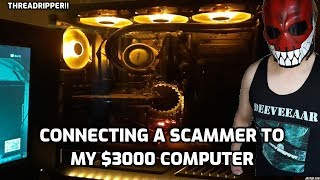 Download Connecting A Scammer To My $3000 Computer! Video