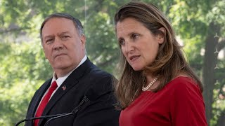 Download Freeland and Pompeo take questions on China, Venezuela and more Video