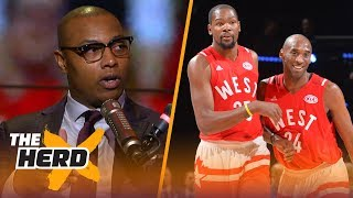 Download Caron Butler questions if Warriors are NBA's best, Kobe vs KD and LeBron's legacy | NBA | THE HERD Video