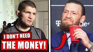 Download Khabib interview: REFUSES McGregor rematch and $100 million offer, Costa rips Adesanya, Jon Jones Video