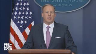 Download Watch Sean Spicer's first official press briefing Video