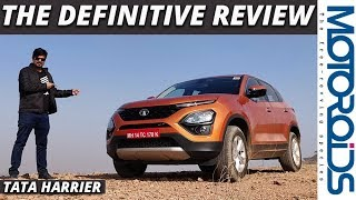 Download Tata Harrier | The Definitive Review | Has the Bar Really Been Raised? | Motoroids Video
