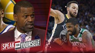 Download Stephen Jackson on Celtics being the Warriors biggest threat | NBA | SPEAK FOR YOURSELF Video