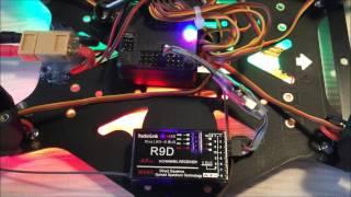 Download setup Radiolink AT9, R9D sbus and cleanflight Video