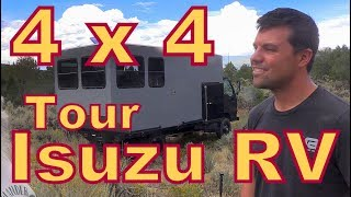 Download Tour of an Isuzu Truck Converted to 4X4 Video
