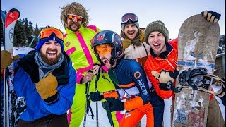 Download Skiing Stereotypes | Dude Perfect Video