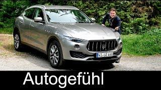 Download Maserati Levante S Q4 FULL REVIEW 3.0 l V6 SUV test all-new neu - Autogefühl Video