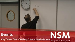 Download Professor Darren Dahl: Creativity and Innovation in Business Video