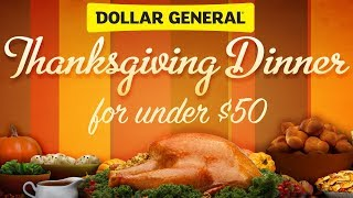 Download Dollar General Thanksgiving Dinner ( all for under $50) Video