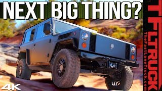 Download EXCLUSIVE! Meet the Bollinger Trucks That Can Off-Road Like a Jeep and Haul Heavy Video