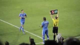 Download Premier match #MLS de Didier Drogba : Réaction de la foule Impact de Montréal - Kan Football Club Video