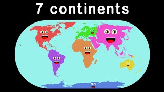 Download 7 Continents Song for Children Video