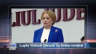 Download Starea Naţiei: Lupta Vioricăi Dăncilă cu limba română Video