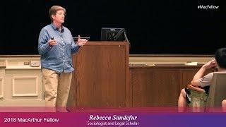 Download Sociologist and Legal Scholar Rebecca Sandefur | 2018 MacArthur Fellow Video