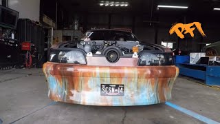 Download Junkyard Mustang gets new life and Shakes the building! Video