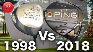 Download 1998 Golf Driver VS 2018 Golf Driver (20 Year Test) Video