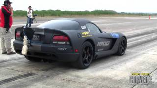 Download 240mph ART twin turbo Viper - Texas Mile - March 2011 Video