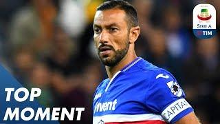 Download Fabio Quagliarella Scores Insane Back-heel Volley!   Sampdoria 3-0 Napoli   Top Moment   Serie A Video