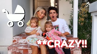 Download BECOMING PARENTS FOR 24 HOURS!! (W/ MyLifeAsEva)   Brent Rivera Video