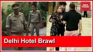 Download Delhi Hotel Brawl: Police At Ashish Pandey's House After Pandey Absconds Video